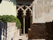 Foto de Malaga, Alcazaba , España  - Puerta Con Ajimez