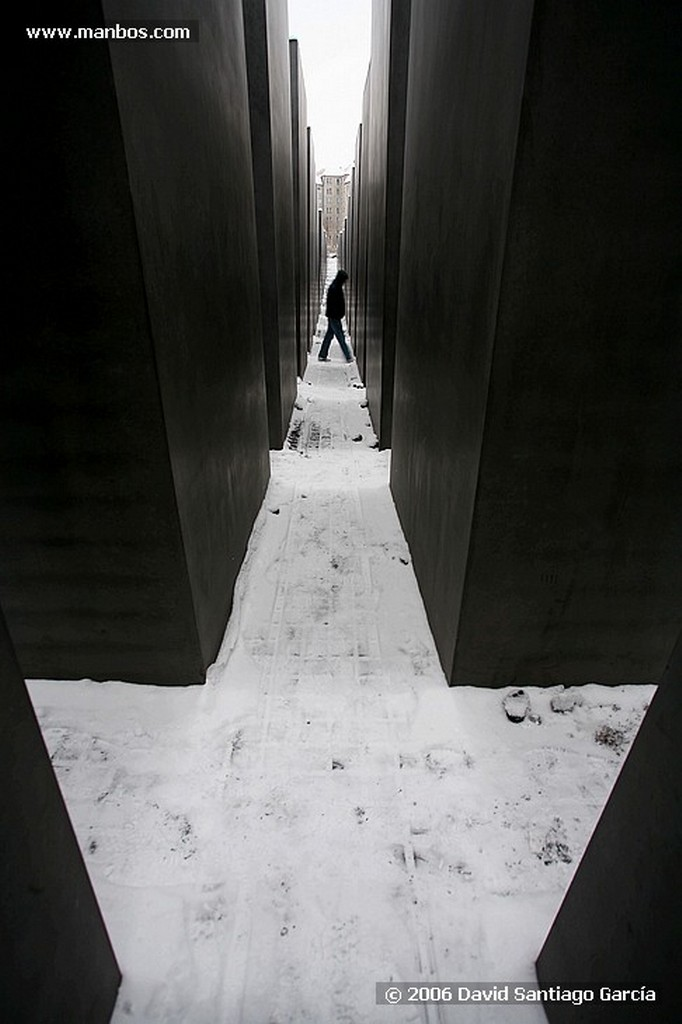 Foto de Berlin, Monumento conmemorativo, Alemania - Monumento conmemorativo para los judios asesinados en europa