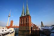 Foto de Berlin, Iglesia nikolaikirche, Alemania - Iglesia nikolaikirche