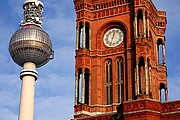 Ayuntamiento rojo, Berlin, Alemania