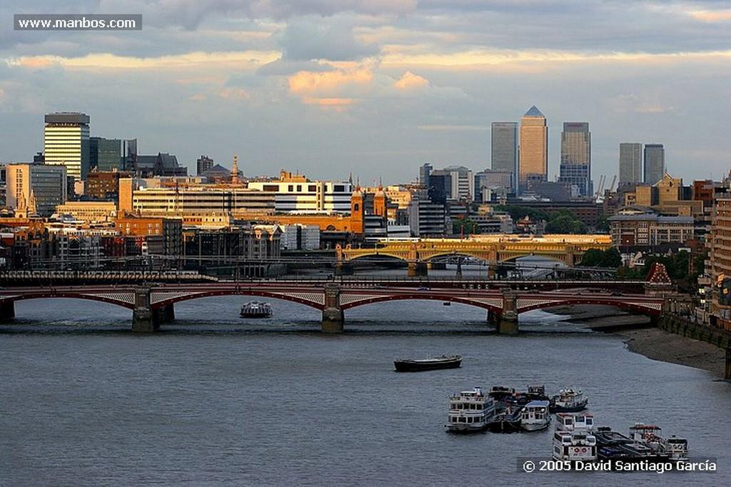 Londres BLACKFRIARS BRIDGE Y SAINT PAUL´S CATHEDRAL Londres