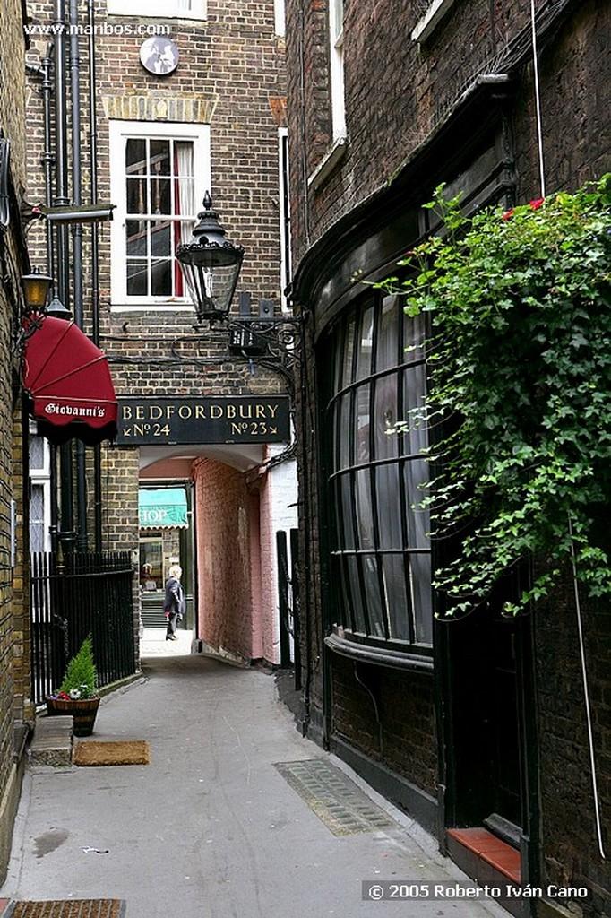Londres Iglesia de los actores Bedford st Londres