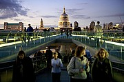 Photo of London, Millenium Bridge, United Kingdom - Millenium bridge