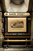 Photo of London, Baker Station, United Kingdom - Estacion Baker  Sherlock Holmes