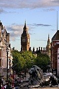Photo of London, Trafalgar, United Kingdom - Trafalgar y Big Ben