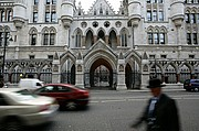 ROYAL COURTS OF JUSTICE, Londres, Reino Unido