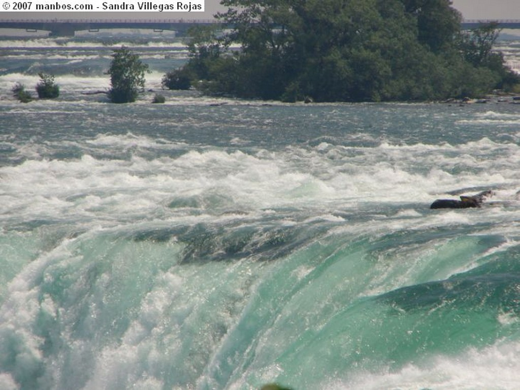 Niagara Falls Lluvia Congelada Ontario