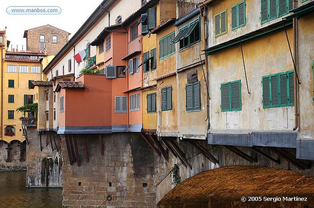 Florencia ponte vecchio atardecer horiz Florencia