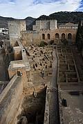 La Alcazaba, Granada, España