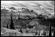Granada Alhambra nevada<br>Foto: 12383