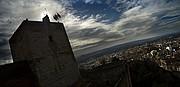 Camara NIKON D70 Torre de la vela granada La Alhambra GRANADA Foto: 12497