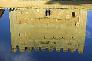 Camara NIKON D70 Torre en el agua La Alhambra GRANADA Foto: 12501