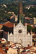 Iglesia de Santa Croce, Florencia, Italia