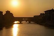 Camara NIKON D70 ponte vecchio atardecer horiz Florencia FLORENCIA Foto: 14173