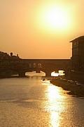 Camara NIKON D70 ponte vecchio atardecer Florencia FLORENCIA Foto: 14171
