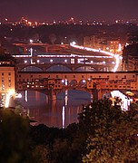 Camara NIKON D70 ponte vecchio noche Florencia FLORENCIA Foto: 14169