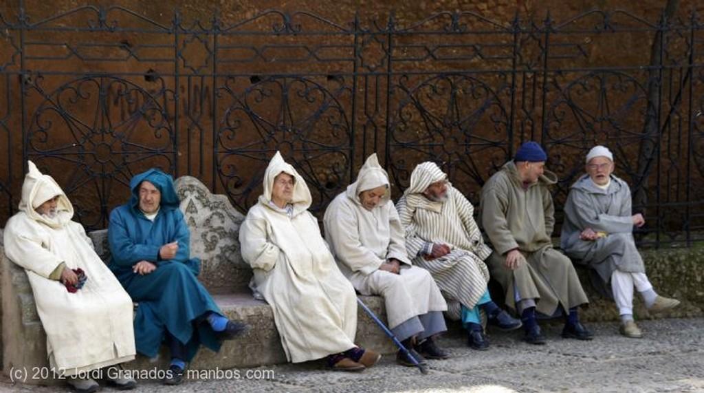 Marrakech Vendedor de Plaza de Yamaa el Fna Marruecos